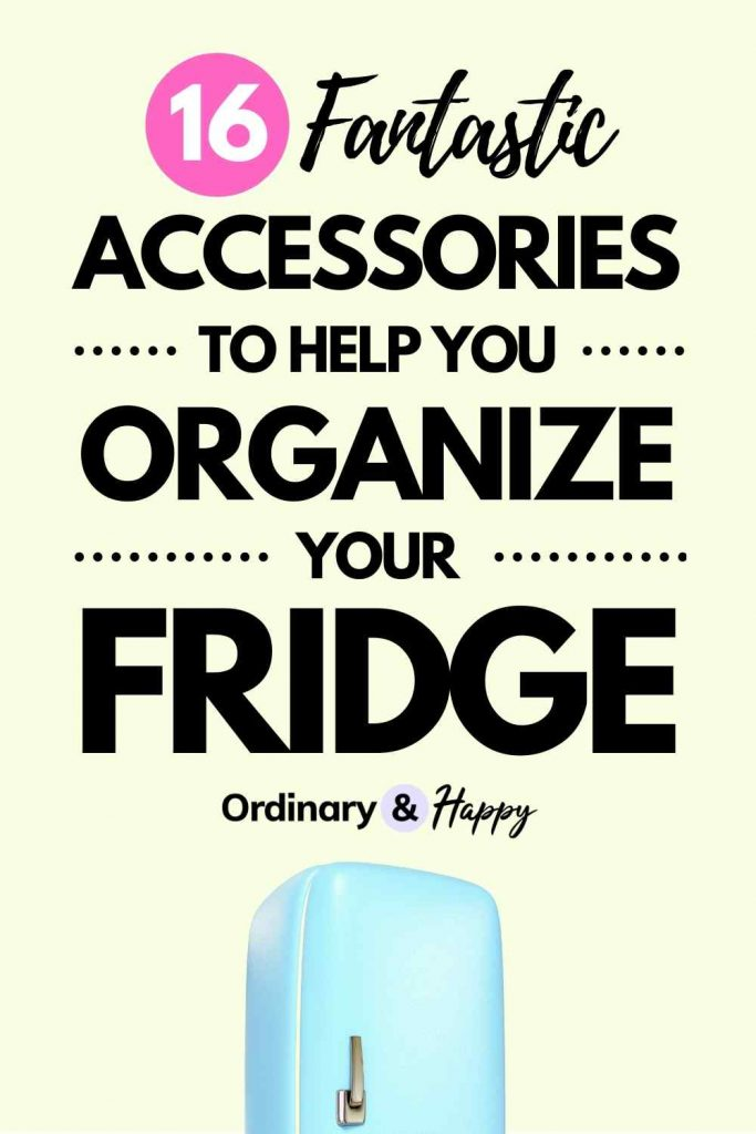 16 Fantastic Accessories to Help You Organize Your Fridge