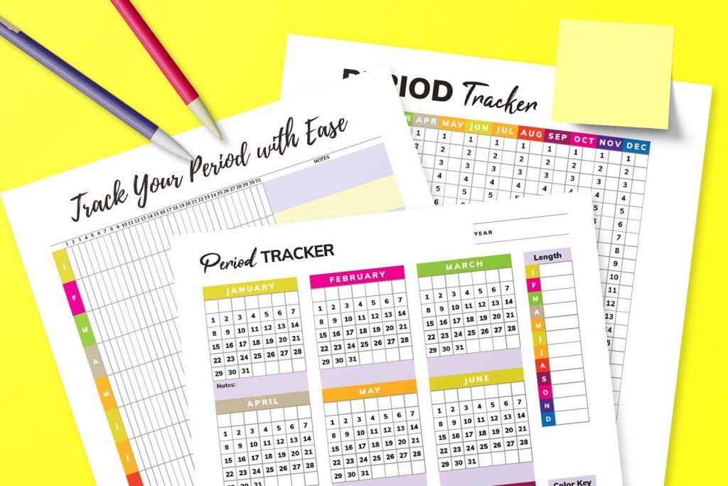 Period Trackers Mockup