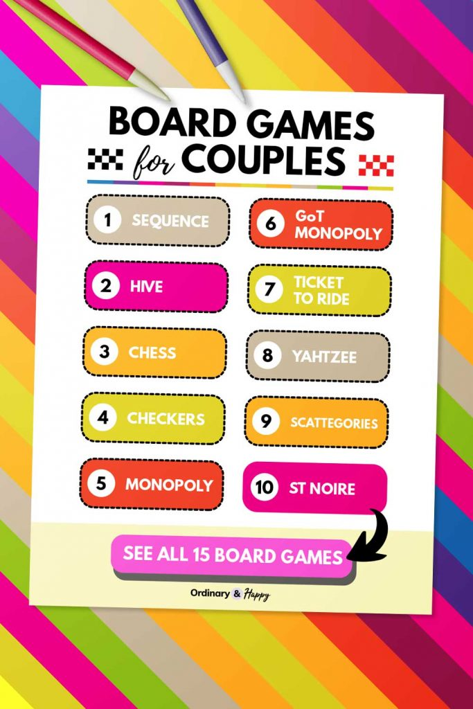 Board Games for Couples (List)