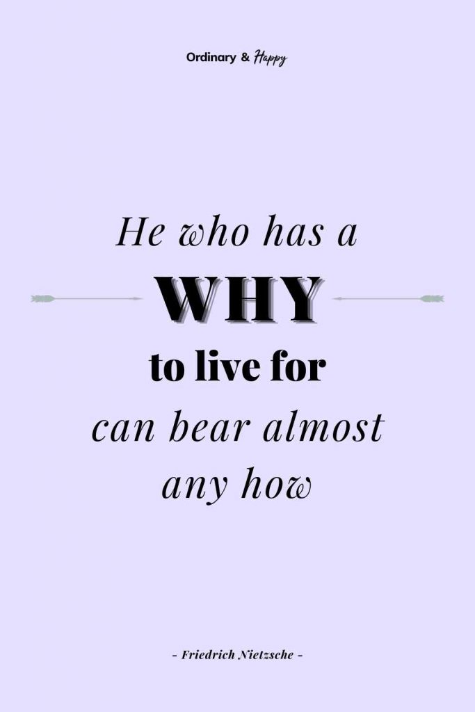 """""""He who has a why to live for can bear almost any how"""" (Adversity Quote Image)"""