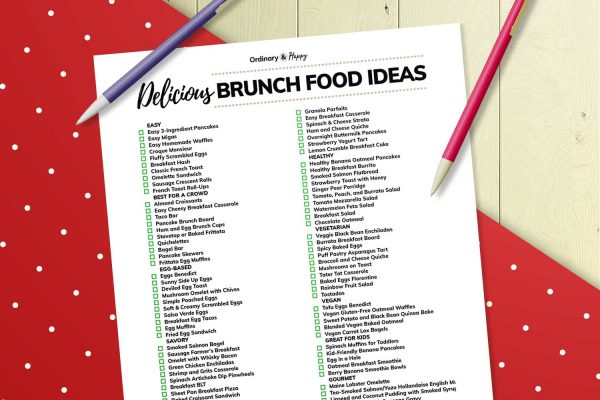 brunch food ideas