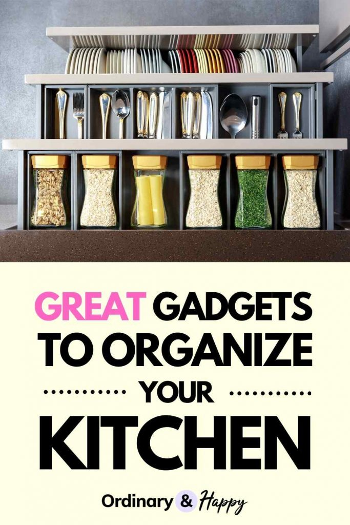 Cool Kitchen Organization Gadgets and Accessories (Image)