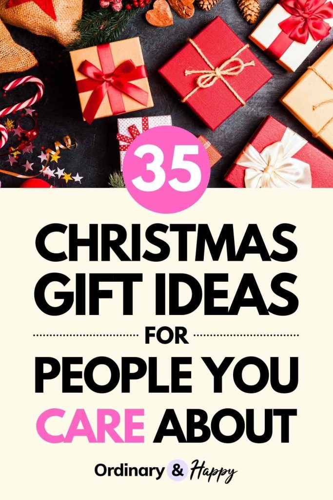 35 Christmas Gift Ideas for People You Care About